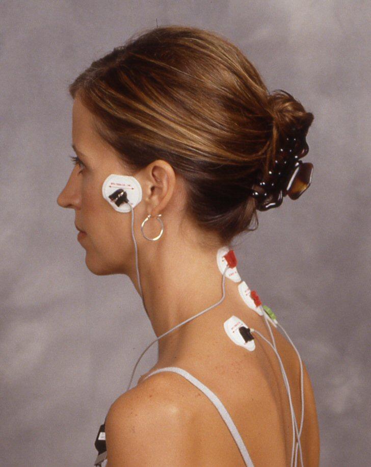 j5 electrodes Relaksacja Mieśni Stawów Skroniowo - Żuchwowych iSzyi